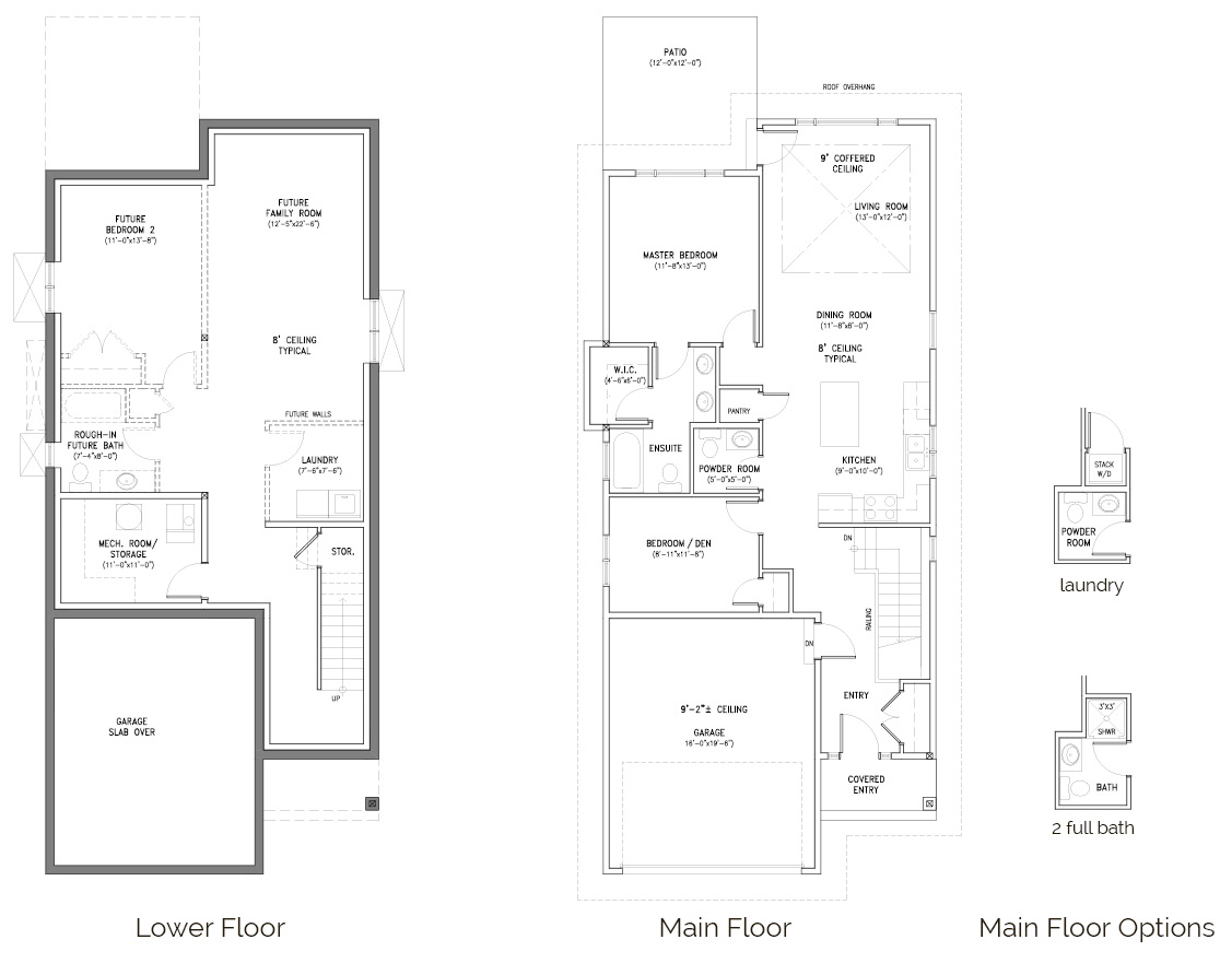 Floor Plans The Burrows Kamloops